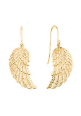 EREWINGG - Engelsrufer fülbevaló szárny arany