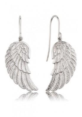 EREWING - Engelsrufer fülbevaló szárny ezüst