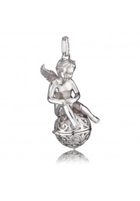 ERPANGELXL Engelsrufer medál angyal gömb ezüst XL