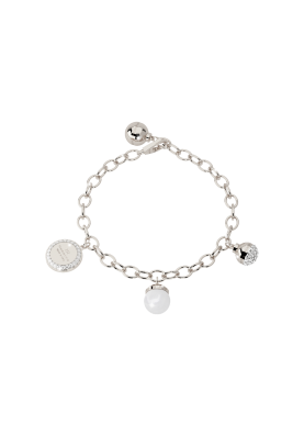 Rebecca BRONZE BRACELET WITH PEARLS Hollywood pearl