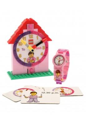 LEGO 9005039 Time Teacher Girl gyermek óra