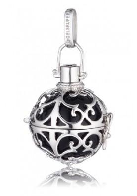 ER02S - Engelsrufer medál gömb fekete ezüst S