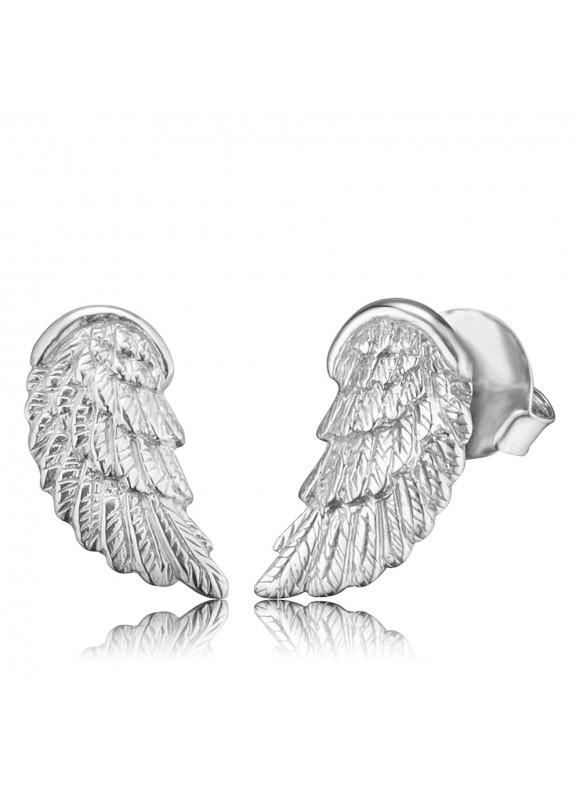 EREWINGST - Engelsrufer fülbevaló szárny ezüst