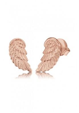 EREWINGSTR- Engelsrufer fülbevaló szárny rosé