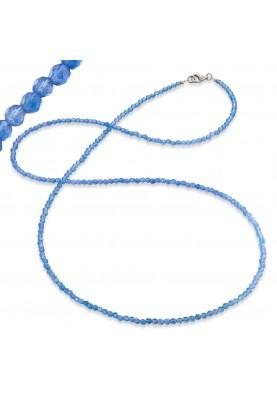 ERN80BA - Engelsrufer lánc gyöngy kék 80cm