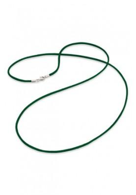 ERN80SI04 - Engelsrufer szaténlánc zöld 80cm