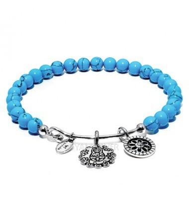 Chrysalis CRBH0008TU kék karkötő
