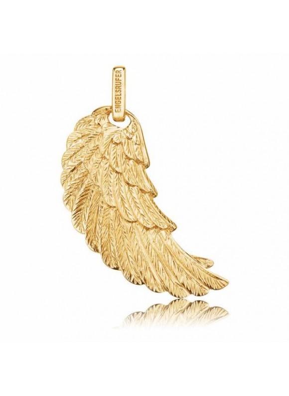 """14K Arany szárny medál """"L"""" - ERWL2G14K"""