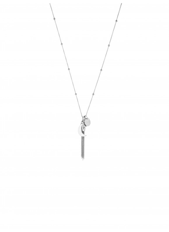 LJ1099 Necklace in Stainless Steel S