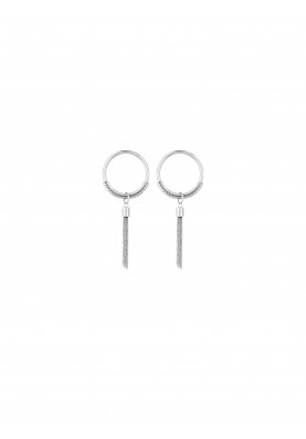 LJ1159 Earrings in Stainless Steel S