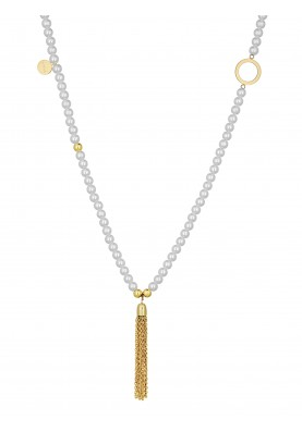 LJ1201 Necklace in Stainless Steel G