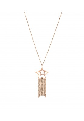 LJ1215 Necklace in Stainless Steel GR