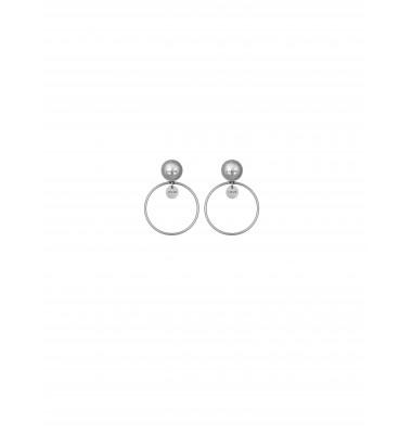LJ1223 Earrings in Stainless Steel S