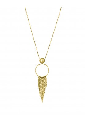 LJ1226 Necklace in Stainless Steel G