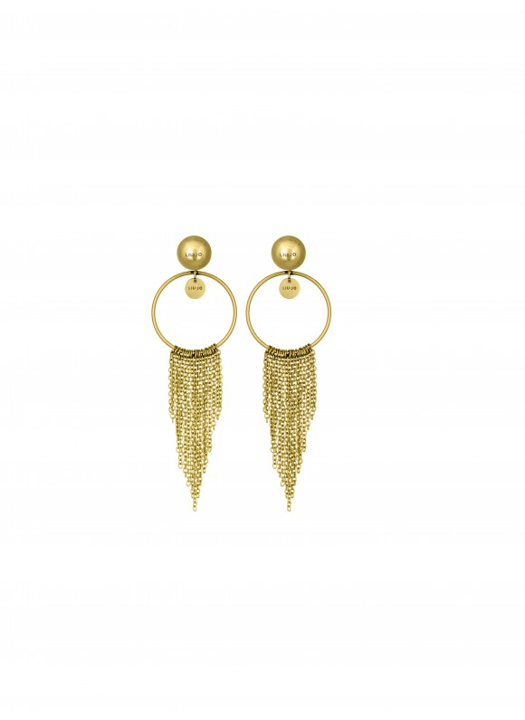 LJ1229 Earrings in Stainless Steel G