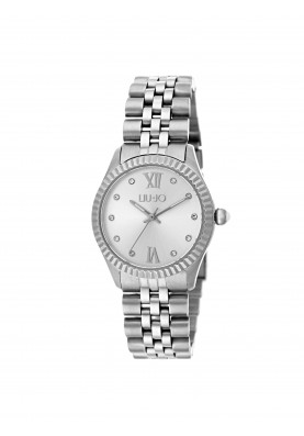 TLJ1133 Quartz Analogue Watch - Tiny Silver