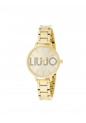 TLJ1289 Quartz Analogue Watch- Couple Gold