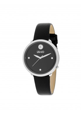 TLJ1297 Quartz Analogue Watch - Only You Black