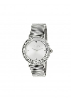 TLJ1341 Quartz Analogue Watch - Dancing Slim Silver