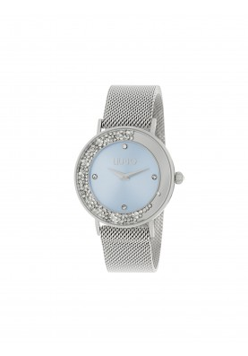 TLJ1345 Quartz Analogue Watch- Dancing Slim Light Blue