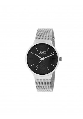 TLJ1360 Quartz Analogue Watch - Trendy Dial Black