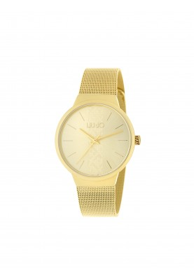 TLJ1362 Quartz Analogue Watch - Trendy Dial Gold