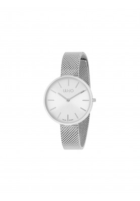 TLJ1374 Quartz Analogue Watch - Glamour Globe Silver