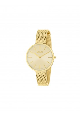 TLJ1375 Quartz Analogue Watch - Glamour Globe Gold
