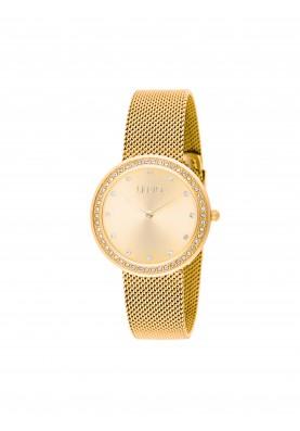 TLJ1379 Quartz Analogue Watch- Luxury Round Gold
